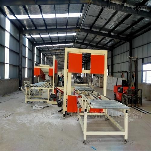 水泥基匀质保温板切割机 全套设备