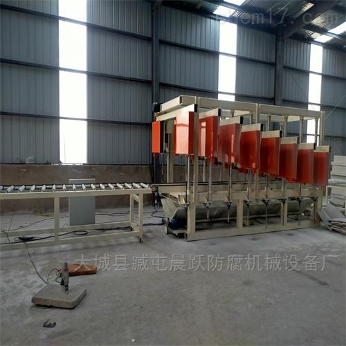 水泥基匀质板带锯切割设备压制型颗粒板设备