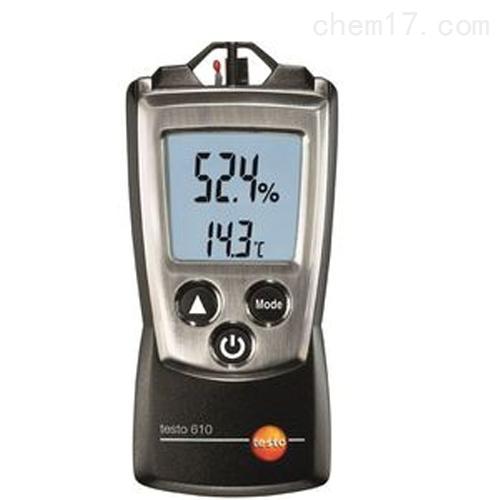 德图testo 610 - 迷你型温湿度仪