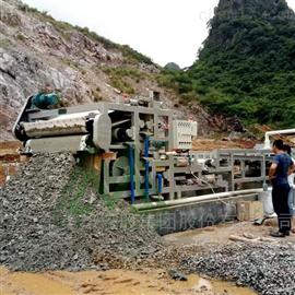 沙场洗沙泥浆污水环保压滤机