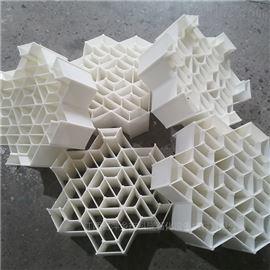 阻燃型瓷塑填料六角内棱环代替轻瓷填料