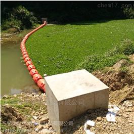 FT500*900拦截水面污物垃圾拦漂排塑料拦截排警示浮筒