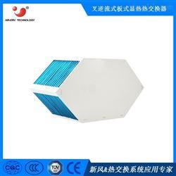 ERD六边形叉逆流高效热回收换热芯体