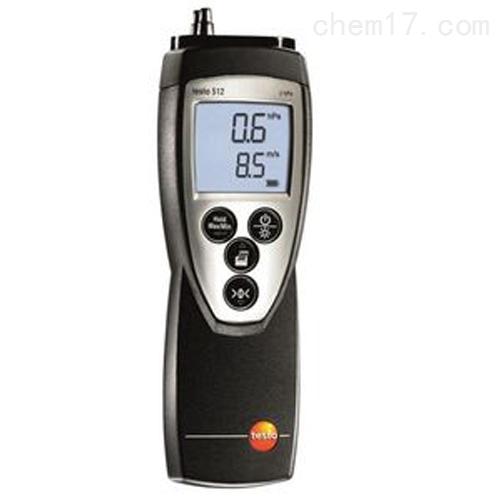 德图testo 512 - 差压测量仪,0~200 hPa
