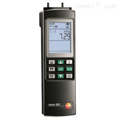 德图521-2差压测量仪(精度±0.1全量程)