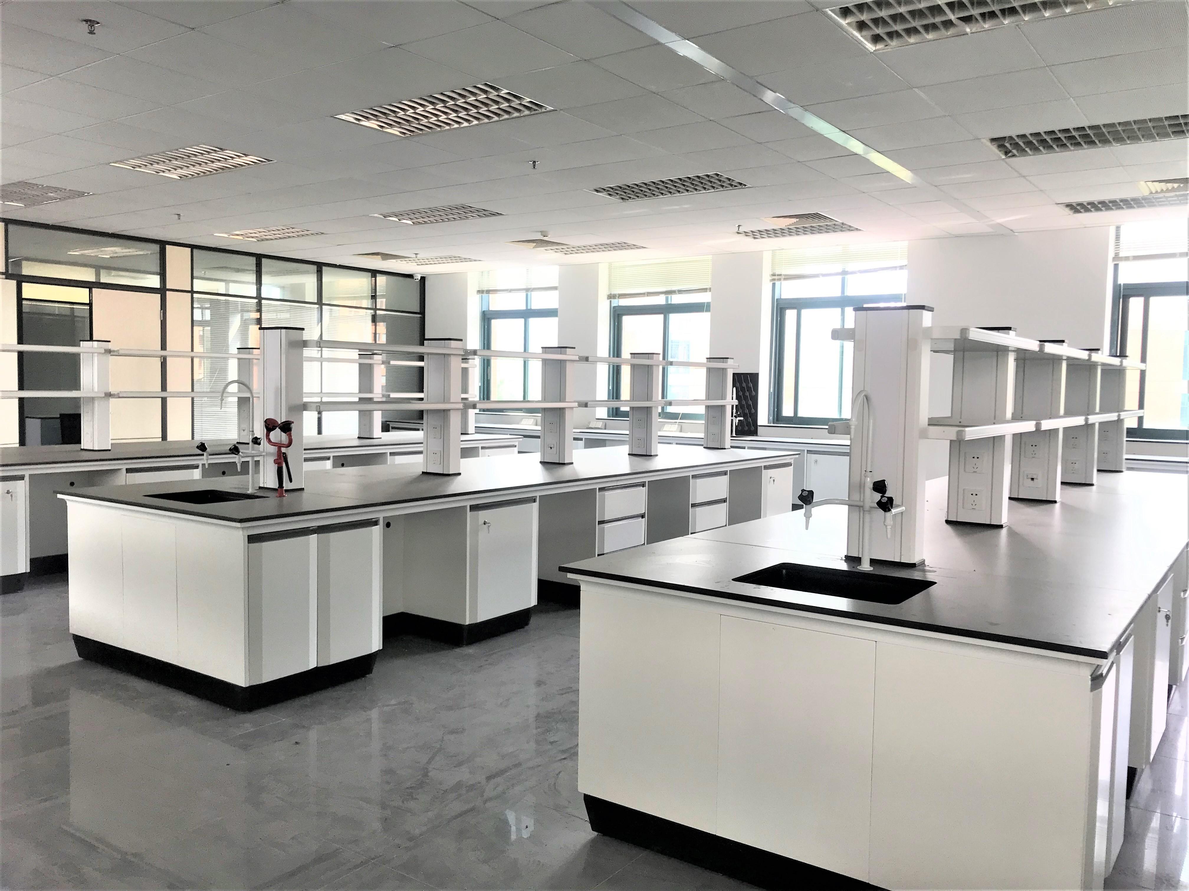 河北实验室家具陶瓷台面实验台 实验室工作台定制