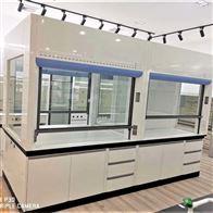 Q16陕西制药厂理化室不脱层全钢步入式通风柜