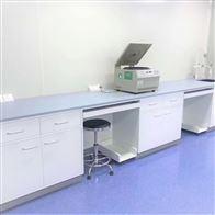 L06江门抗紫外线电子材料检测带抽屉钢木实验台