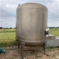二手6000升立式不锈钢压力储罐