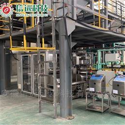 合肥信远江苏南通大袋水溶肥自动上袋生产线