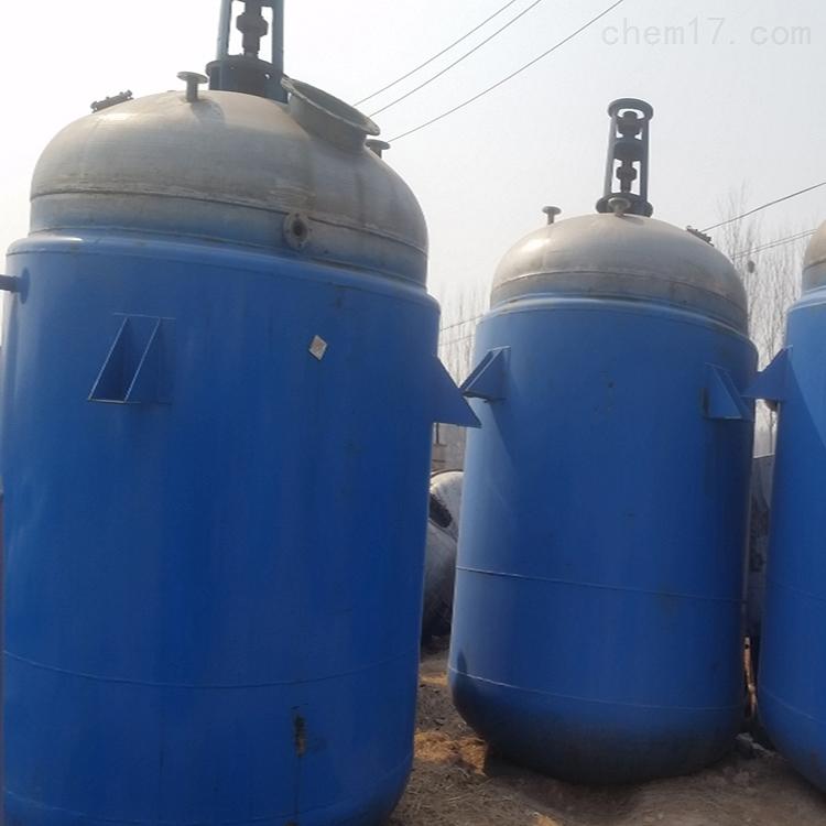 10立方不锈钢二手四氟反应釜欢迎订购