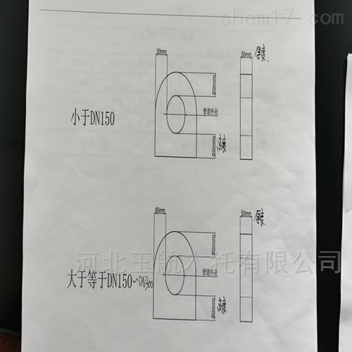 防腐空调水管木托管卡 管道保温管吊卡托码