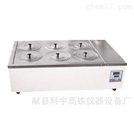 双列6孔电热恒温水浴锅系列