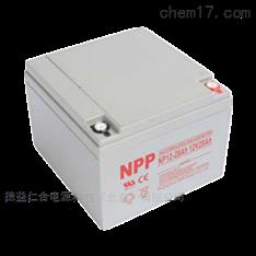 耐普(NPP)蓄电池