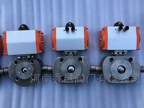 BQ671F气动对夹式保温球阀