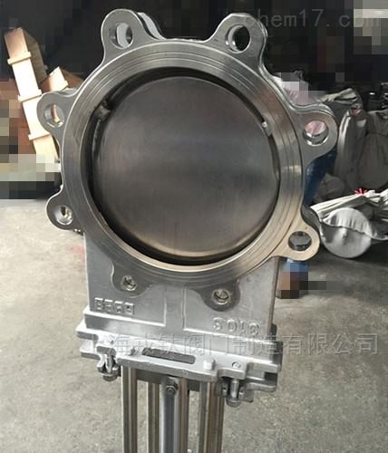 高温气动排渣阀