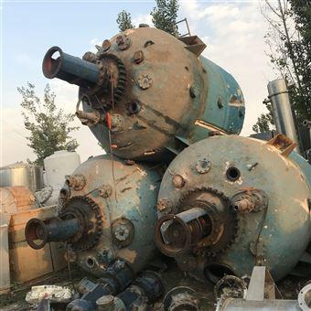 回收1-9吨二手反应釜