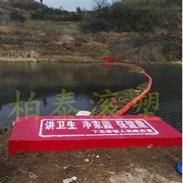 FT200*1000塑料拦污浮排拦截水草浮萍垃圾聚乙烯浮筒