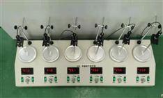 HJ-6A數顯六聯加熱磁力攪拌器(加熱板)