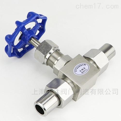 J23W双相钢针型阀