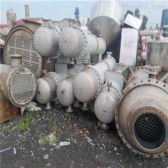 回收闲置二手60平方列管冷凝器