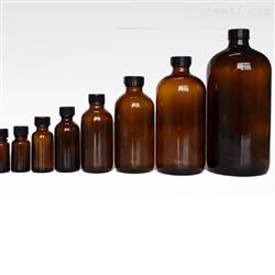 XU911-250ml带聚四氟乙烯衬垫棕色螺口玻璃瓶 小口