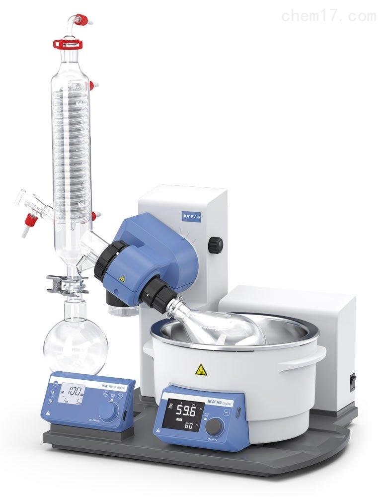 RV 10 digital V德国IKA RV系列数显型旋转蒸发仪