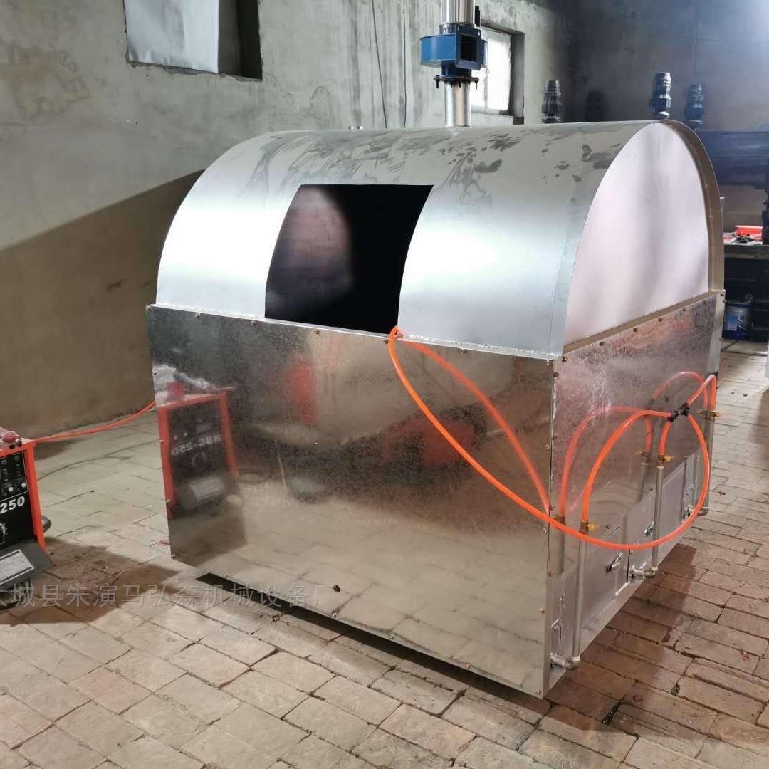 废旧聚苯泡沫板液化气热熔化块机厂家
