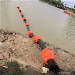 FT700*800水上管道抬浮警示拦污塑料浮筒