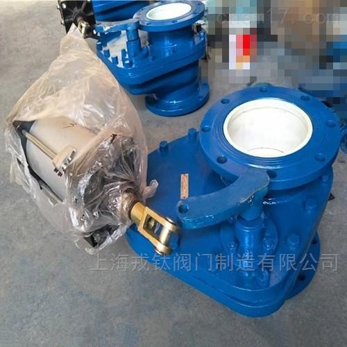 气动陶瓷耐磨摆动阀