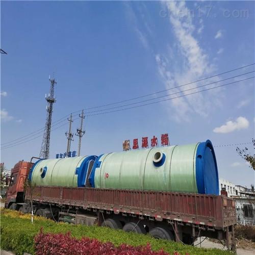 玻璃钢雨污水提升泵站一体化工作说明