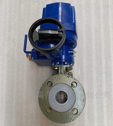 防爆电动衬F46球阀