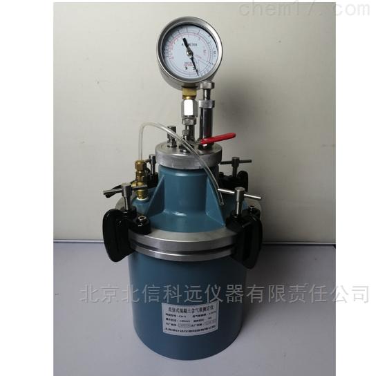 直读式砼含气量测定仪 混凝土拌和物含气量检测仪