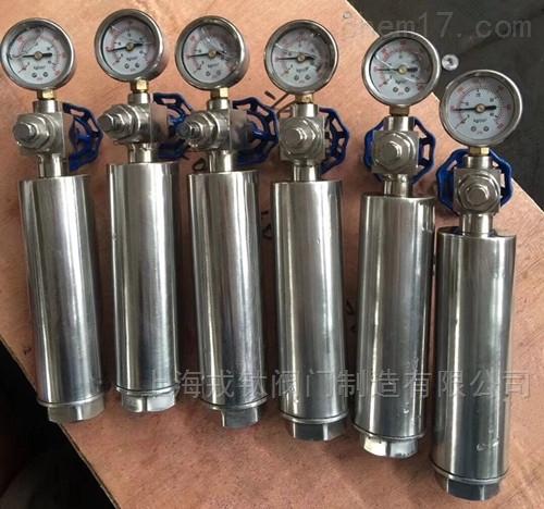不锈钢水锤消除器9000型活塞式水锤吸纳器