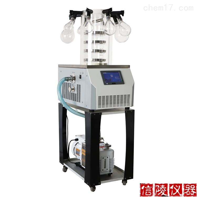 LGJ-10C电除霜多歧管普通型真空冷冻干燥机