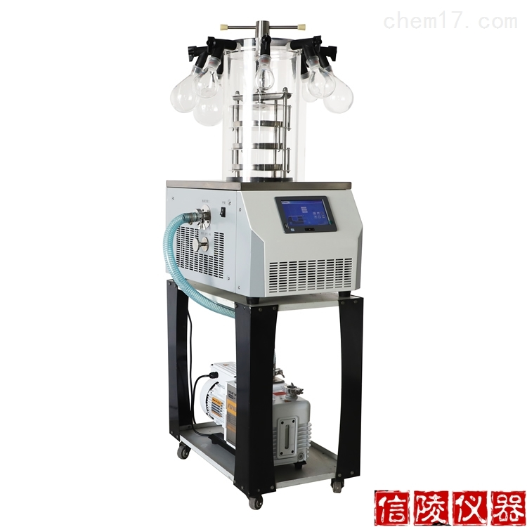 LGJ-10D电除霜多歧管压盖型真空冷冻干燥机
