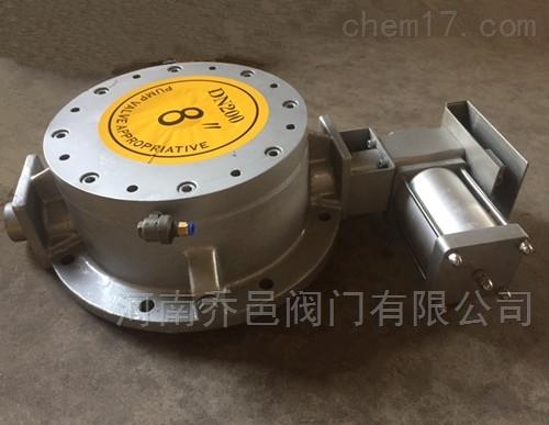 气动耐磨圆顶阀YDF充气式圆顶阀