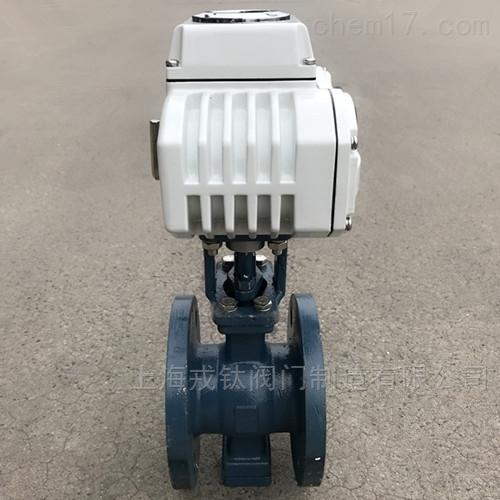 QV947F电动V型球阀
