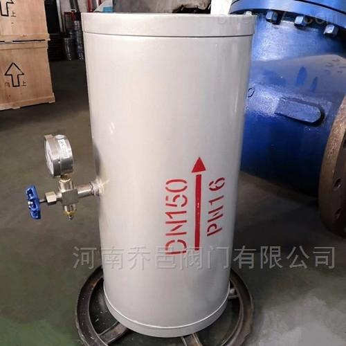 YQ-8000胶胆气囊式不锈钢水锤吸纳器