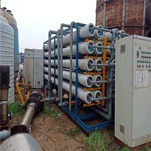新疆转让二手6吨双级反渗透水处理安置步骤