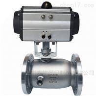 BQ641F气动不锈钢保温球阀