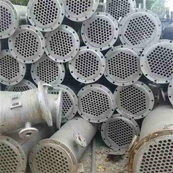 二手多种型号不锈钢冷凝器回收价格