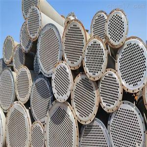 二手列管冷凝器钛材