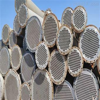 10平方二手列管冷凝器钛材