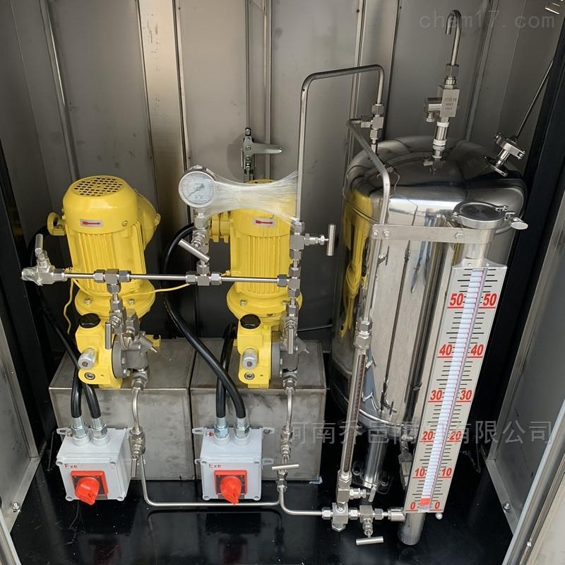 泵式天然气燃气自动加臭装置 单泵双泵燃气天然气加臭机