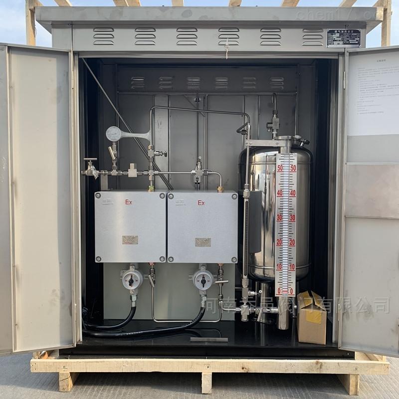 天然气燃气自动加臭系统 泵式燃气天然气加臭机