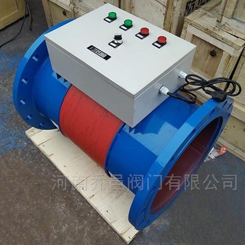 广谱感应缠绕式电子水处理器 广谱感应式水处理仪