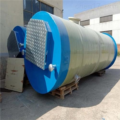 玻璃钢一体化智慧截流井泵站简介