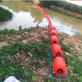FT600*1000塑料拦污浮筒拦截效果怎么样