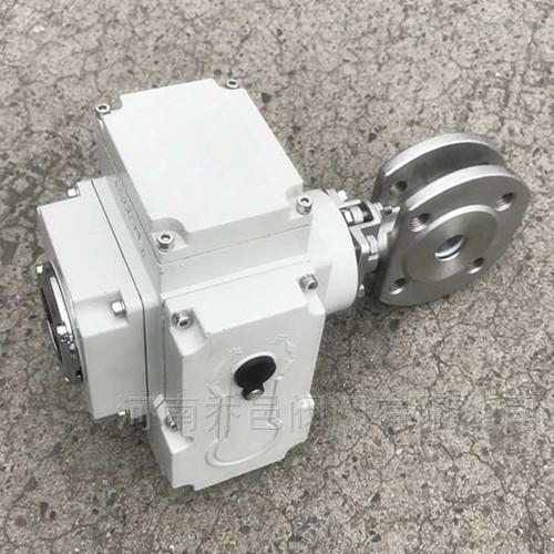电动对夹式球阀 电动超短型球阀
